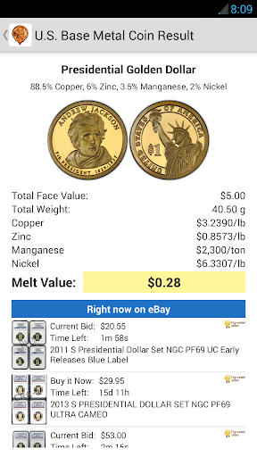 Foto do Coinflation - Gold & Silver Melt Values