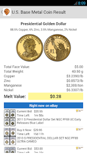 Coinflation - Gold & Silver Melt Values