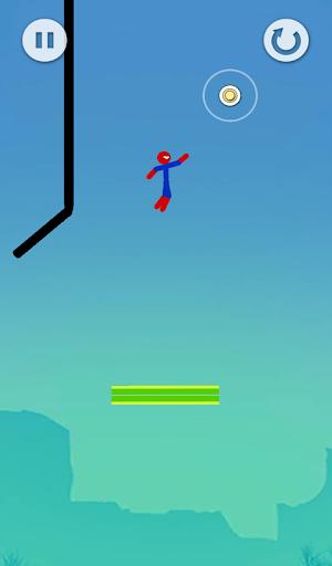 Super Hero Flip: Spider Stickman Hook 0.3 screenshots 2