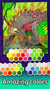 Dino Coloring Game 4