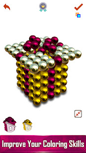Magnetic Balls 3D - Paint by Number, Magnet World