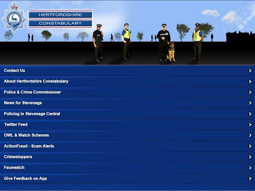 hertfordshire police screenshot 3