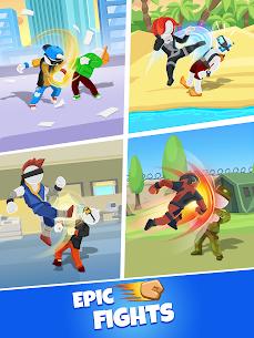 Match Hit Mod Apk- Puzzle Fighter (God Mode) 9