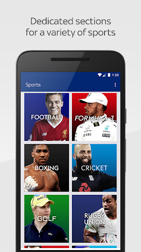 Sky Sports International 1.0.0 Screenshots 2