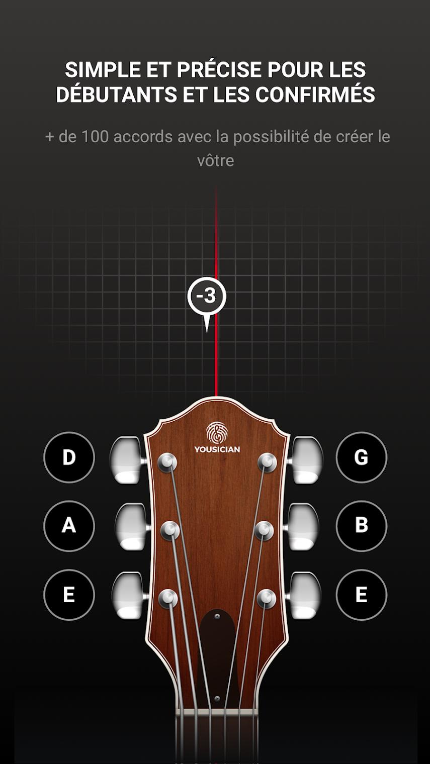 Une application pour s'accorder et jouer en rythme : GuitarTuna