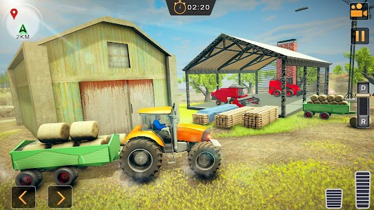 Real Tractor Driver Simulator 2021 Up Hill Farming Apk Download 5