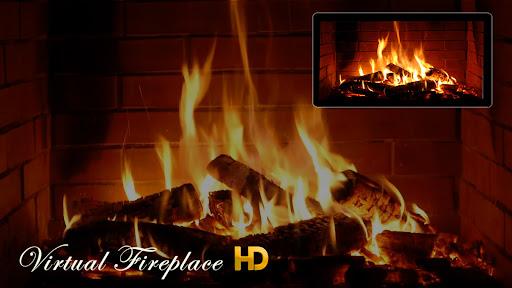 🔥 Virtual Fireplace HD screenshots 1