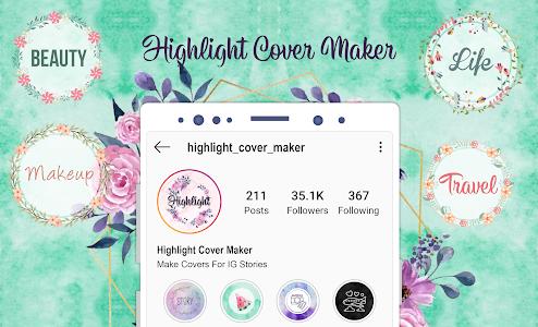 Highlight Cover Maker - Covers For Instagram Story 1.0.5