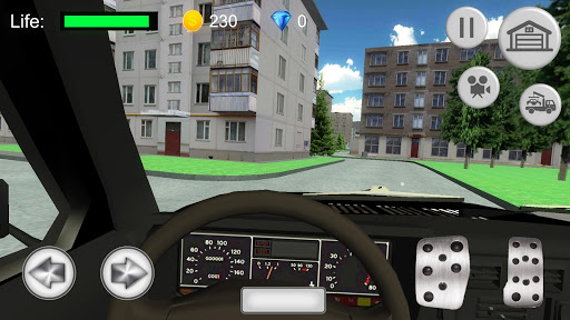 Russian SUV Simulator apkdebit screenshots 1