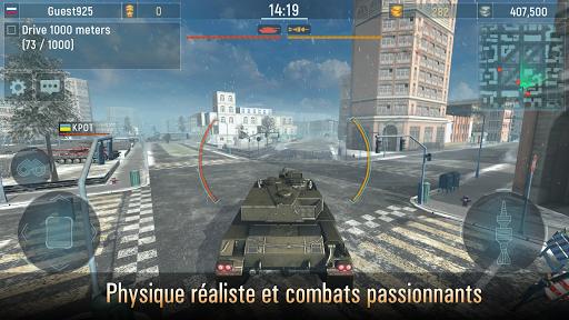 Télécharger Armada Tanks: Jeux de Guerre de Tank Gratuit  APK MOD (Astuce) screenshots 1