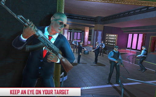 Secret Agent Spy Game: Hotel Assassination Mission apkpoly screenshots 5