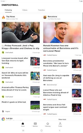 OneFootball - Soccer News, Scores & Stats  APK screenshots 10
