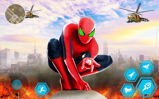 Spider Rope Hero Man: Miami Vise Town Adventure 1.0 Screenshots 8