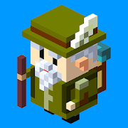Voxel Adventure - 3d maze for logic and thinking