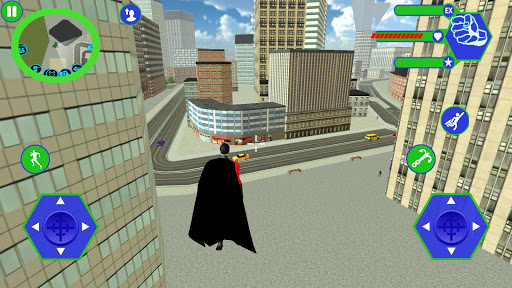 Flying SuperHero Rope Vegas Rescue apklade screenshots 2