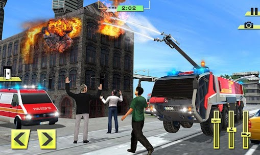 Real Firefighter Training 2020 – Fire Truck Rescue 1