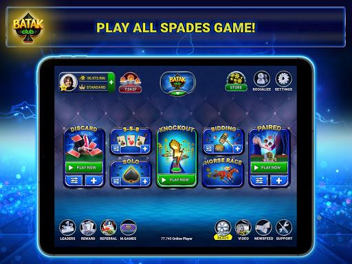 Batak Club - Online & Offline Spades Game 7.1.28 screenshots 10