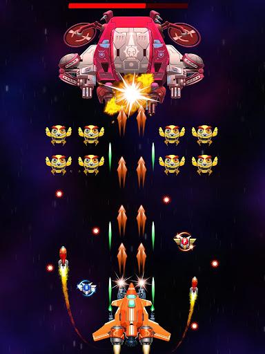Galaxy Attack: Robot Transform Chicken Shooter 12.1 screenshots 12