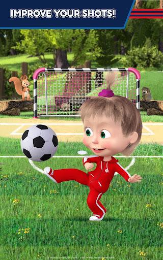 Masha and the Bear: Football Games for kids Apkfinish screenshots 22