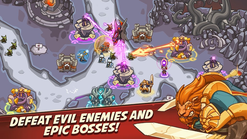 Empire Warriors Premium: Tower Defense Games poster 0