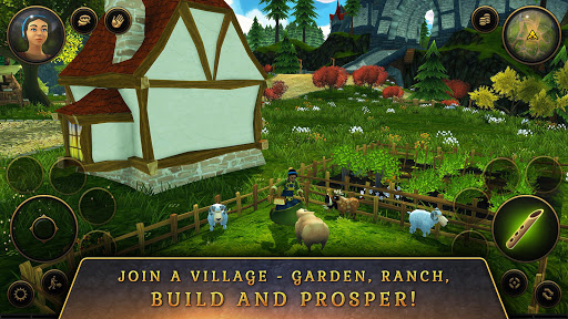 3D MMO Villagers & Heroes  screenshots 5
