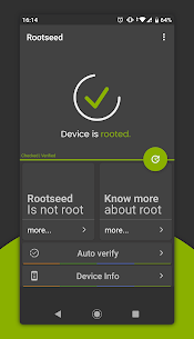 Rootseed – Superuser/SU Root Checker and Info Apk Download NEW 2021 2