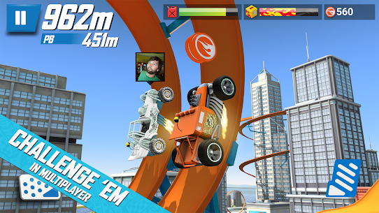 Hot Wheels: Race Off Mod Apk (Unlimited Money) 3