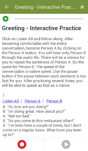 Learn to Speak English 2.4.8 Screenshots 4