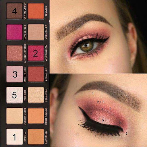Step by step makeup (lip, eye, face) ud83dudc8e screenshots 4