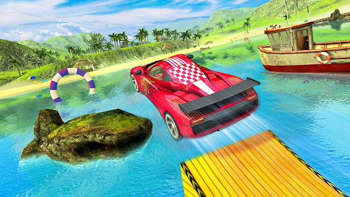 Water Surfer car Floating Beach Drive  screenshots 10