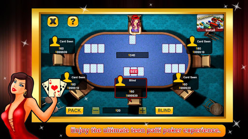 Teen Patti poker android2mod screenshots 3
