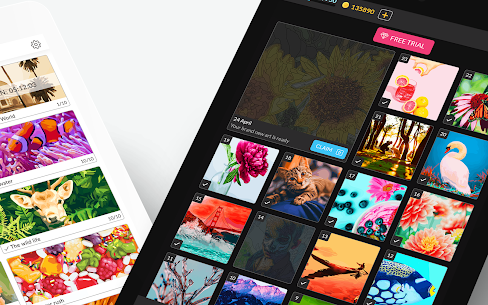 Color by Number for adults MOD APK 2.67.0 (Unlimited Money) 14