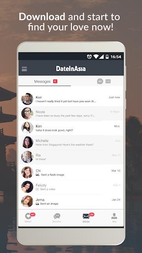 Date in Asia - Dating, Chat, Meet Asian Singles  Screenshots 5