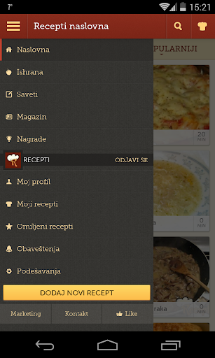 Recepti - Kuvar 1.0.11 Screenshots 3