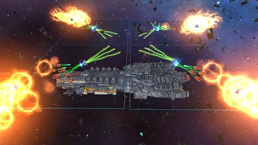 Space Ships WAR: Unique TD Battles apkpoly screenshots 4