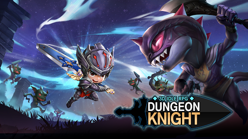 Dungeon Knight: 3D Idle RPG android2mod screenshots 1