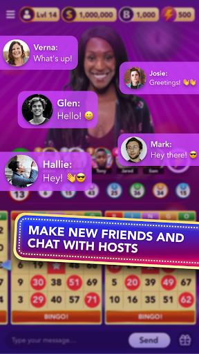 Bingo: Live Play Bingo game with real video hosts 1.5.5 screenshots 4