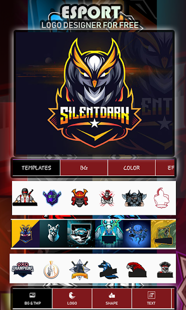 Logo Esport Maker | Create Gaming Logo Maker screenshot 21