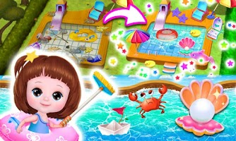 Baby Doli Fantastic Home - Clean up & Deco
