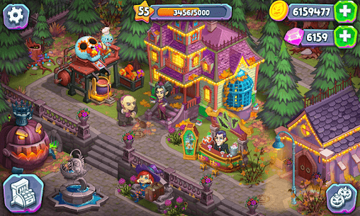 Free Monster Farm – Happy Ghost Village – Witch Mansion 4