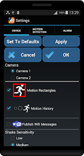 Motion Detector – MOD for Android 3