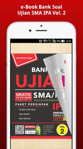 e-Book Bank Soal Ujian SMA IPA Vol. 2  screenshots 2