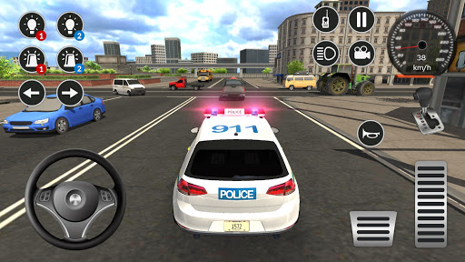 Police Car Game Simulation 2021 1.1 screenshots 1