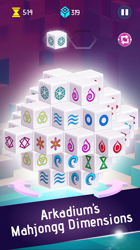 Mahjongg Dimensions: Arkadiumu2019s 3D Puzzle Mahjong 1.2.14 screenshots 8