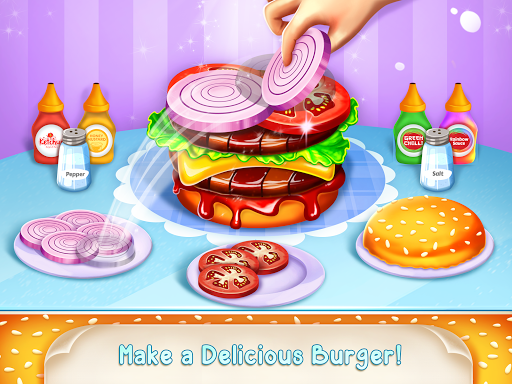 Icecream Cone Cupcake Baking Maker Chef apktram screenshots 4