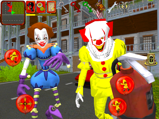 Clown Brothers. Neighbor Escape 3D apkpoly screenshots 9