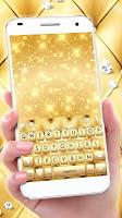 Gold Luxury Biz Keyboard Theme