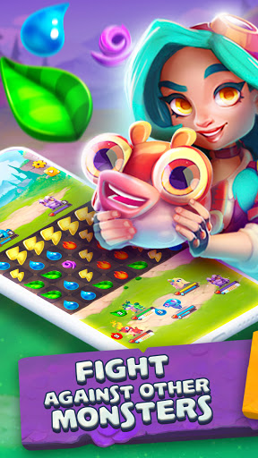 Monster Tales - Multiplayer Match 3 Puzzle Game 0.2.201 screenshots 1
