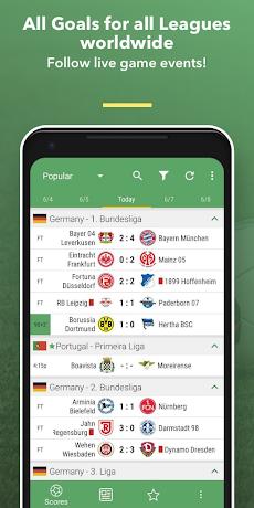 All Goals - Football Live Scoresのおすすめ画像1