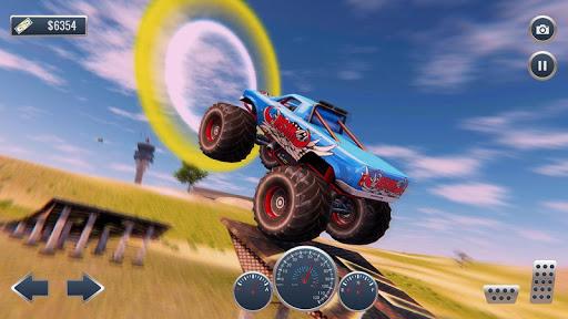Offroad Flying Monster Truck Driving screenshots 4